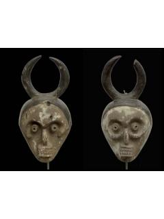 Mambila [Нигерия], 2 маски, 30 см