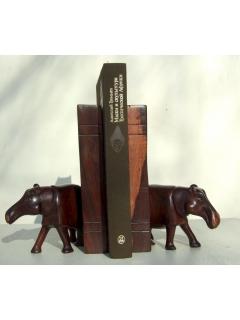 Подставка для книг (bookend) Бегемот [Кения]