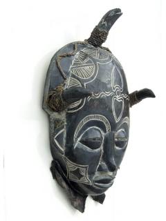 Chokwe Wight [Намибия], маска с историей, 58 см