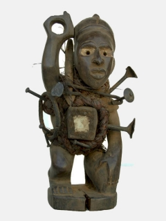 Nkisi Power Figure [Конго], 26 см