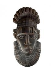 Панно, изображающее известную маску из Бенина Edo peoples, Iyoba