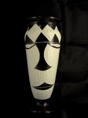 Африканская ваза из натурального камня