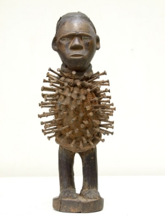 Nkisi Power Figure [Конго], 27 см