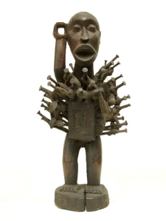 Nkisi Power Figure [Конго], 34 см