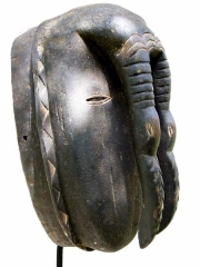 Африканская маска птицы-носорога Ligbi Hornbill