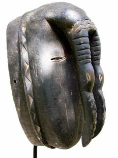 Маска Ligbi Hornbill [Кот-д'Ивуар]