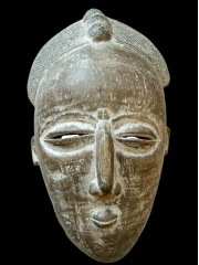 Африканская маска народа Djimini