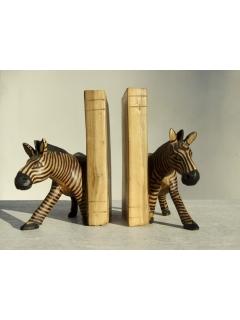 """Подставка для книг """"Зебра"""" (bookends) [Кения]"""
