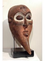 Африканская маска на подставке Mbagani [Конго]