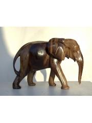 Статуэтка африканского слона из дерева