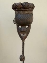 Маски и скульптуры народности Salampasu [Конго]