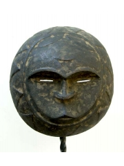 Подлинная недорогая африканская маска Eket, Нигерия