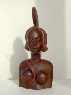 Конакри-Принцесса, красное дерево [Гвинея], 38 см