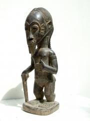 Классическая статуэтка духовного супруга народности Baule (Кот-д'Ивуар)