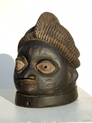 Известная ритуальная африканская маска из Нигерии Yoruba