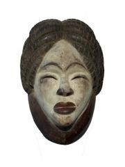 Африканская маска Lumbo-Punu