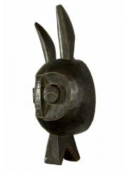 Головной шлем-маска народности IJO