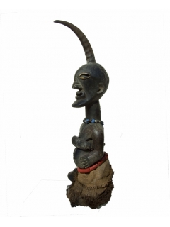 Songye Fetish Power Horn [Конго], 62 см