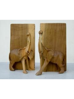 """Подставка для книг """"Слон"""" (bookends) [Кения]"""