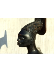 "Африканская статуэтка из эбена ""Кто тут"""