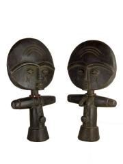 Пара африканских кукол Ашанти (Ashanti) из дерева для красоты и здоровья детей