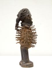 Африканский фетиш с гвоздями Nkisi