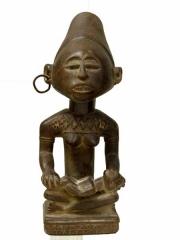 Статуэтка Yombe Maternity - символ материнства в Конго