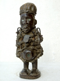 Nkisi Power Figure [Конго], 32 см