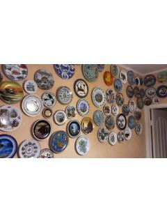 Декоративные тарелки с пищей для ума