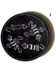 Африканская декоративная тарелка диаметром 21 см