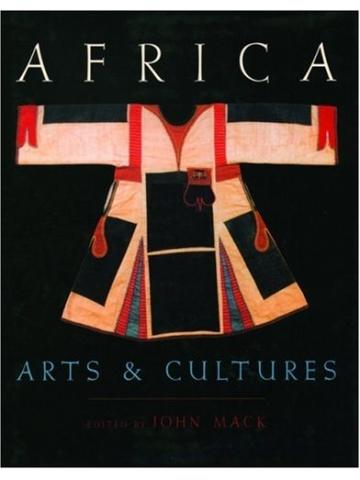 Книга Africa arts and culture. John Mack