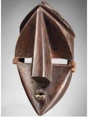 Африканская маска Lwalwa [Конго]