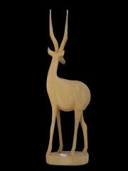 Деревянная фигурка африканской газели