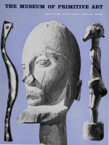 Книга The Museum of Primitive art. Скульптуры Senufo, Baga, Dogon