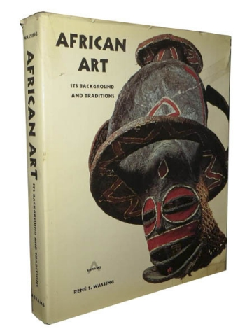 """Книга """"African Art - Its Background and Traditions"""" - Rene S. Wassing"""