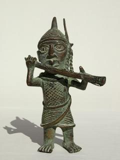 Статуэтка Музыкант [Бенин], 18 см