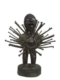 Статуэтка фетиш Nkisi Power Figure [Конго]