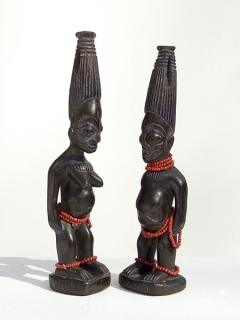 Статуэтки Ibeji [Нигерия], 30 см
