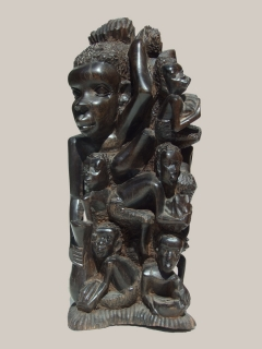 """Статуэтка """"Семейное дерево"""" [Танзания]"""
