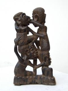 """Статуэтка """"Семейное дерево"""" [Танзания], 28 см"""