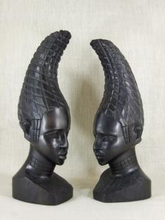 "Статуэтка ""Пара Йоруба"" [Нигерия], 25 см"