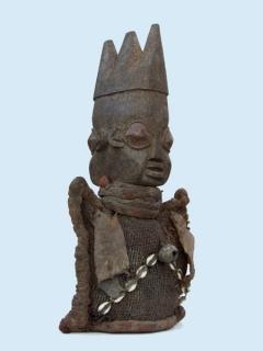 Статуэтка Yoruba Ibeji [Нигерия], 40 см