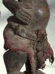 Фетиш Songye Power Horn из Конго с рогом
