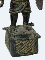 Бенинская бронза. Статуэтка воина. Высота 30 см