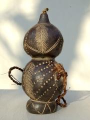 Африканская керамическая масляная лампа народности Tikar, Камерун