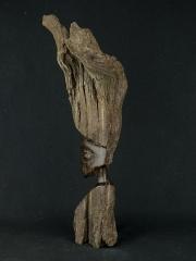 Статуэтка африканской красавицы из черного дерева