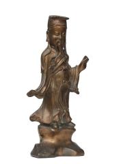 Статуэтка Конфуция из металла