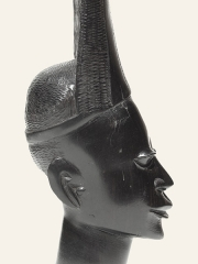 """Статуэтка африканской девушки """"Амаранта"""" из эбенового дерева. Высота 24 см"""
