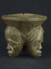 """Африканская скульптура из дерева чаша """"Единство"""""""