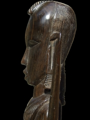 """Купить африканскую статуэтку из эбенового дерева """"Воин"""""""